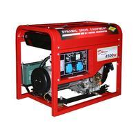 Генератор дизельный DDE DDG6000E (1ф 5,0/5,5 кВт бак 11,5 л 99 кг дв-ль 10 л.с. элстарт)