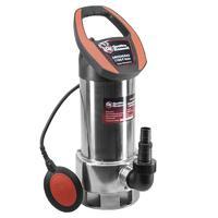 Дренажный насос QUATTRO ELEMENTI Drenaggio 1100 F Inox (1100 Вт, 19000 л/ч, для грязной, 9 м, 7,5кг, нерж.сталь корпуса)