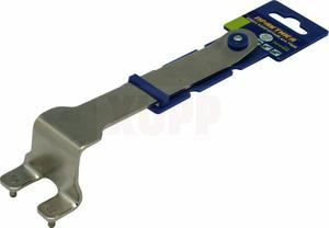 Ключ для планшайб ПРАКТИКА 30 мм, для УШМ, изогнутый