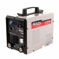 Аппарат электродной сварки, инвертор QUATTRO ELEMENTI E 170 (160 А, ПВ 100%, до 4 мм, Дисплей, TIG-Lift, 8.3 кг)
