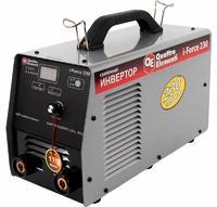 Аппарат электродной сварки, инвертор QUATTRO ELEMENTI i-FORCE 230 (230A, ПВ 60%, до 5 мм, Дисплей, TIG-Lift, работа от 170В) ПРОФИ