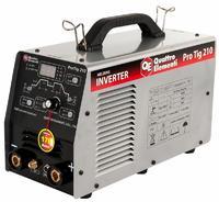 Аппарат арг.-дуговой сварки, инвертор QUATTRO ELEMENTI ProTIG 210 (200A, ПВ 100%, до 5,0 мм, 220В, постоянный ток)