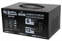 Зарядное устройство QUATTRO ELEMENTI BC12A (12В, 12 / 6 А) автомат
