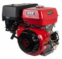 Двигатель бензиновый четырехтактный DDE 188F-S25GE (25.0мм, 13.0л.с., 389 куб.см., фильтр-картридж, датчик уровня масла, генерирующая катушка 80W, эле