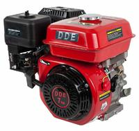 Двигатель бензиновый четырехтактный DDE 170F-Q19 (19.05мм, 7.0л.с., 208 куб.см., фильтр-картридж, датчик уровня масла)