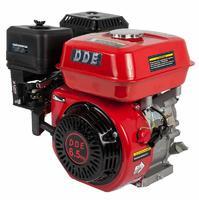 Двигатель бензиновый четырехтактный DDE 168FB-Q19 (19.05мм, 6.5л.с., 196 куб.см., фильтр-картридж, датчик уровня масла)