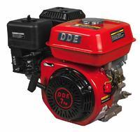 Двигатель бензиновый четырехтактный DDE 170F-S20 (20.0мм, 7.0л.с., 208 куб.см., фильтр-картридж, датчик уровня масла)