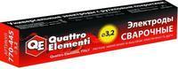 Электроды сварочные QUATTRO ELEMENTI рутиловые,  3,2 мм, масса 4,5 кг