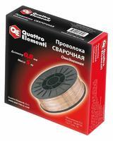 Проволока сварочная QUATTRO ELEMENTI  омедненная,  0,8 мм, масса 5,0 кг