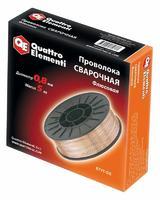 Проволока сварочная QUATTRO ELEMENTI флюсовая  0,8 мм, масса 5,0 кг