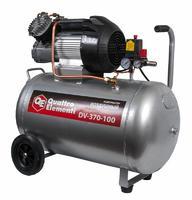 Компрессор поршневой масляный QUATTRO ELEMENTI DV-400-100 (400 л/мин, 100л, 3л.с, 8 бар, 56 кг,  V-образный)