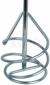 Насадка для перемешивания ПРАКТИКА хвостовик SDS-plus,100 х 400, гипсовые и цементно-песчаные смеси
