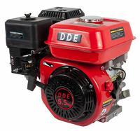 Двигатель бензиновый четырехтактный DDE 168F-Q19 (19.05мм, 5.5л.с., 163 куб.см., фильтр-картридж, датчик уровня масла)