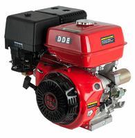 Двигатель бензиновый четырехтактный DDE 190F-S25GE (25.0мм, 15.0л.с., 420 куб.см., фильтр-картридж, датчик уровня масла, генерирующая катушка 80W, эле
