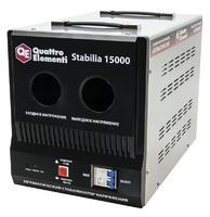 Стабилизатор напряжения QUATTRO ELEMENTI Stabilia 15000 (15000 ВА, 140-270 В, 24 кг, байпас) (241-499)