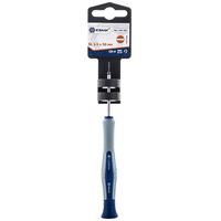 Отвертка для точных работ КОБАЛЬТ Ultra Grip SL 1.5 х 50 мм CR-V, двухкомпонентная рукоятка (1 шт.) подвес