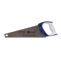 Ножовка по дереву КОБАЛЬТ 350 мм, шаг 2 мм/ 12 TPI, закаленный зуб, 3D-заточка, двухкомпонентная рукоятка, точный рез