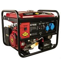 Генератор бензиновый DDE G750E (1ф 7,0/7,5 кВт бак 25 л 92 кг дв-ль 15 л.с элстарт)