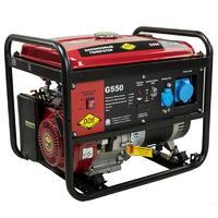 Генератор бензиновый DDE G550 (1ф 5,0/5,5 кВт бак 25 л 80 кг дв-ль 13 л.с.)