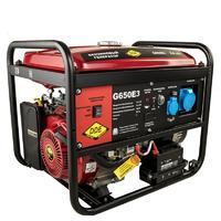 Генератор бензиновый DDE G650E3 (1+3ф 6,0/6,5 кВт бак 25 л 89 кг дв-ль 14 л.с. элстарт)