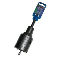 Коронка твердосплавная ПРАКТИКА SDS- Plus ударная 55 мм (1шт.) клипса