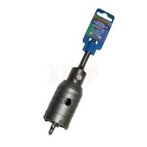 Коронка твердосплавная ПРАКТИКА SDS- Plus ударная 45 мм (1шт.) клипса
