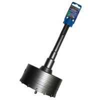 Коронка твердосплавная ПРАКТИКА SDS-Max ударная 120 мм (1шт.) клипса