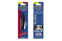 Пилки для лезвийной пилы ПРАКТИКА твердосплавные S641HM по ЦСП, шиферу, дереву 150мм, шаг зубов 4 мм, 1 шт