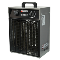 Нагреватель воздуха электрический QUATTRO ELEMENTI QE-9000 E  (6 / 9кВт, 380В-3ф, 820 м3/час)