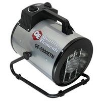 Нагреватель воздуха электрический QUATTRO ELEMENTI QE-5000 ETN  (2.5 / 5кВт, 220В, 500 м3/час) — цилиндр