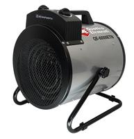 Нагреватель воздуха электрический QUATTRO ELEMENTI QE-6000 ETN (3 / 6кВт, 380В-3ф, 880 м3/час) — цилиндр