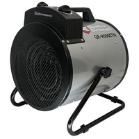 Нагреватель воздуха электрический QUATTRO ELEMENTI QE-9000 ETN (4.5 / 9кВт, 380В-3ф, 880 м3/час) — цилиндр