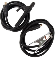 Комплект сварочных  проводов QUATTRO ELEMENTI KIT-20 до 200 А, держатель, масса, провода 5+4 м, коннекторы TK 16-25