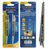 Пилки для лезвийной пилы ПРАКТИКА S644D  HCS, по дереву, шаг 4,3 мм, длина 150 мм, 2 шт