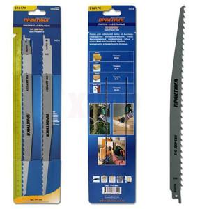 Пилки для лезвийной пилы ПРАКТИКА S1617K  HCS, по дереву, шаг 8 мм, длина 300 мм, 2 шт