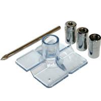 Кондуктор для сверления ПРАКТИКА для сверл 6, 8, 10 мм, под прямым углом под шканты, для дерева, ДСП