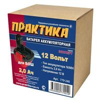 Аккумулятор для BOSCH ПРАКТИКА 12В, 2,0Ач, NiMH, в коробке