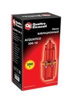 Вибрационный насос QUATTRO ELEMENTI Acquatico 300-10 (300 Вт, 1200 л/ч, для чистой, 70м, кабель10 м, 3,2кг)