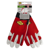 Перчатки DDE  СOMFORT  кожа /спандекс, размер  X L