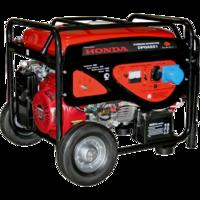 Генератор бензиновый DDE DPG6551 (Эл.Стартёр, 1ф ном/макс. 5,0/5,5кВт, HondaGX390, т/бак 25л, КОЛЕСА, 86кг)