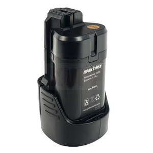 Аккумулятор для BOSCH ПРАКТИКА 10.8В, 1.5Ач,  Li-Ion, коробка