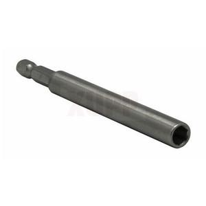 """Удлинитель ПРАКТИКА магнитный держатель 100мм для бит 1/4""""  цельнотянутый, (1шт), блистер"""