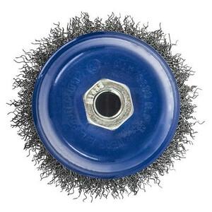 Кордщетка для МШУ чашеобразная мягкая ПРАКТИКА 100 мм М14 (1шт.) блистер
