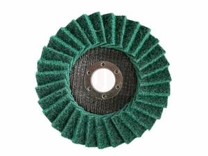 Круг лепестковый полировальный ПРАКТИКА 125 х 22 мм,  мягкий, войлочный, абразивный