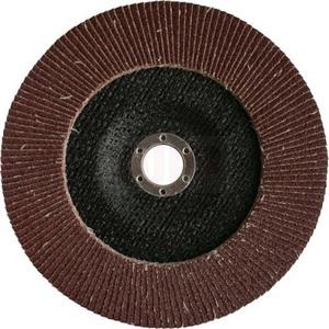Круг лепестковый шлифовальный ПРАКТИКА 125 х 22 мм Р 40 (1шт.) серия Профи